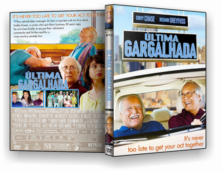 CAPA DVD – A Ultima Gargalhada – ISO