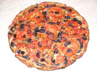 reteta pizza de casa cu blat de paine retete culinare de post,