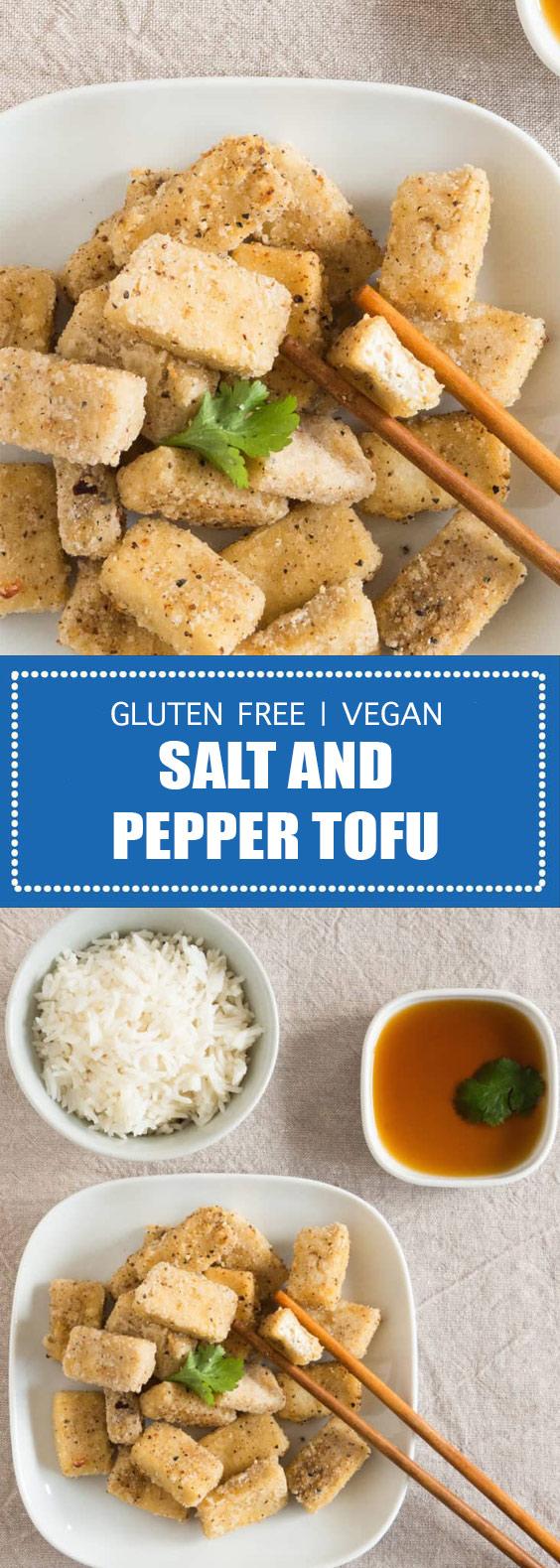 Gluten Free Salt and Pepper Tofu