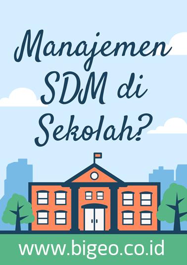 Penerapan manajemen SDM Sekolah