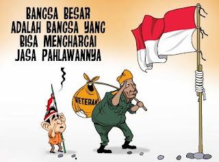 DP BBM Gambar Hari Pahlawan 10 November PP Lucu Pejuang Indonesia