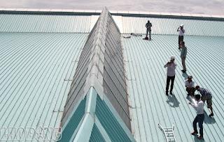 Làm mái tôn tại Bình Dương