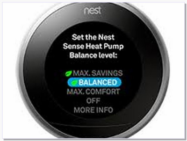 How to program nest thermostat for heat pump