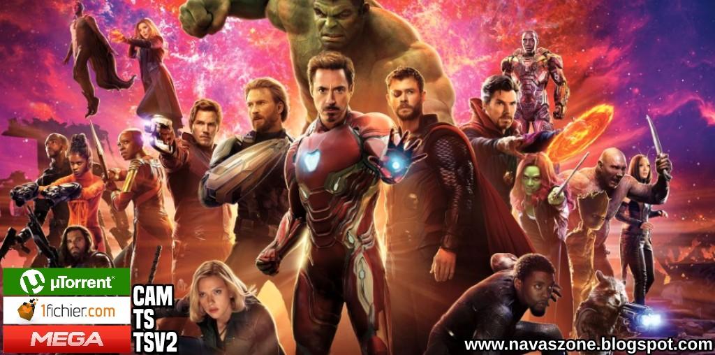 navas zone: vengadores: infinity war | ts / cam | español latino