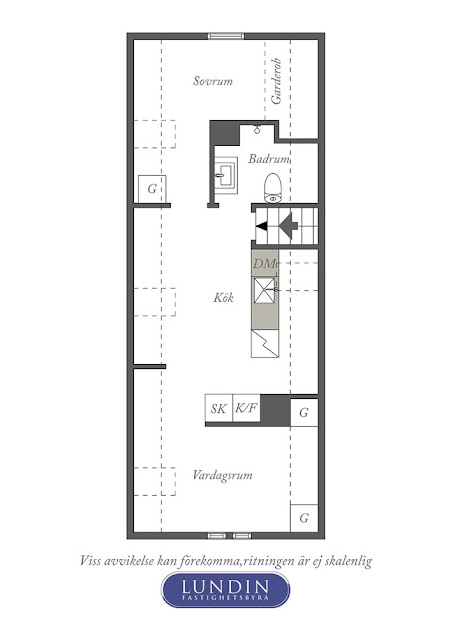 plan de amenajare apartament de 46 mp