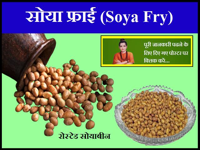 सोया फ्राई (Soya Fry)