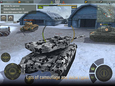 Tank Shooter Game Mod v2.63 APK+Data Full Terbaru 2017 Gratis