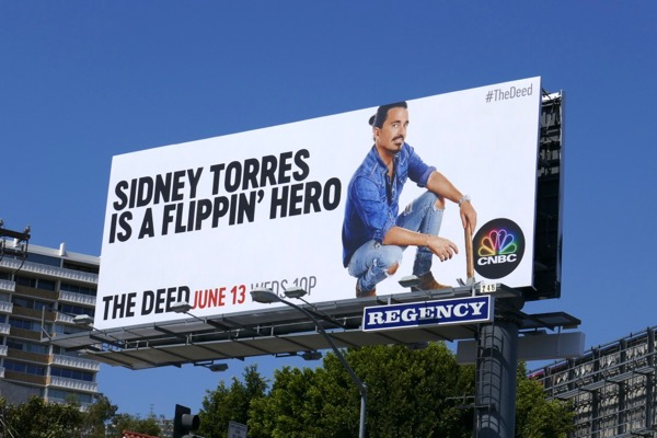 Deed Season 2 Sidney Torres billboard