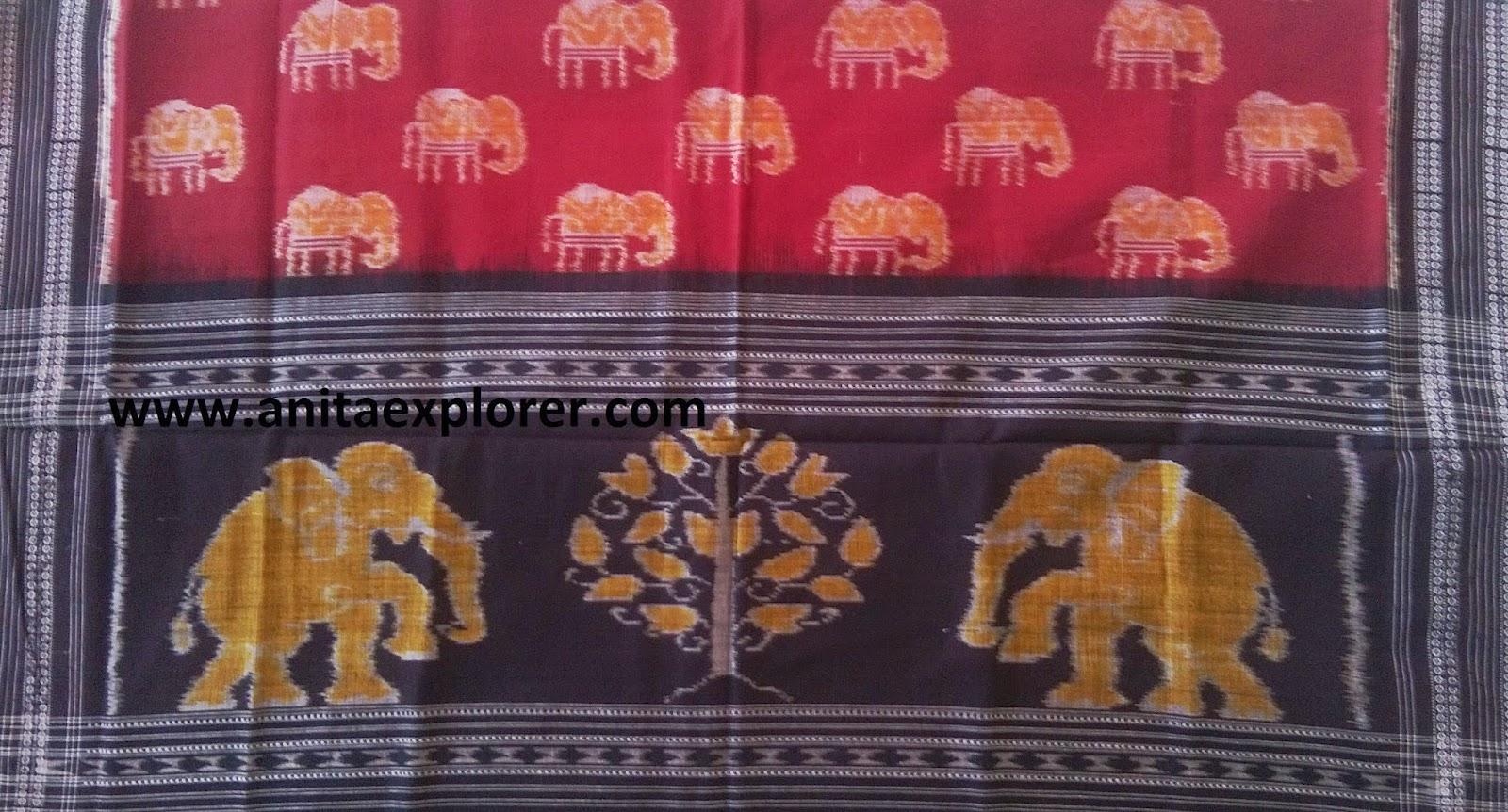 Odisha-Sambalpuri-Dupatta