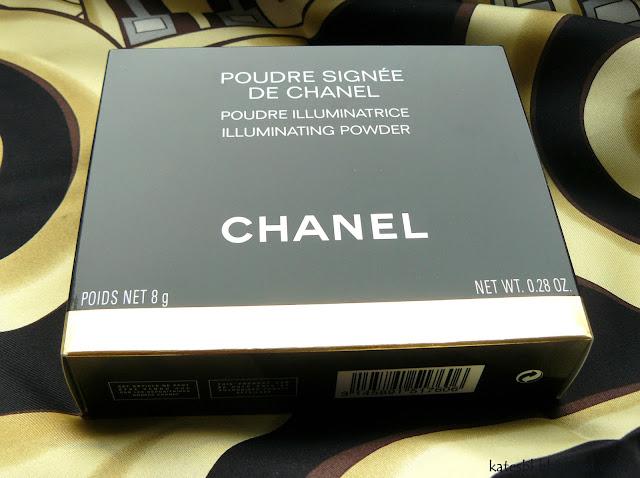Poudre Signee De Chanel отзыв