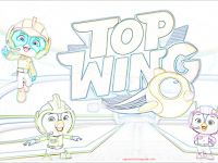 Speedy Top Wing Coloring Pages
