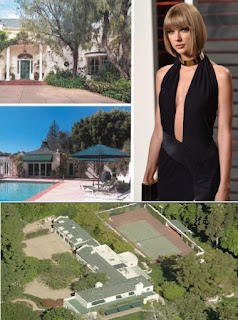 Taylor Swift Beverly Hills Mansion, Swift home