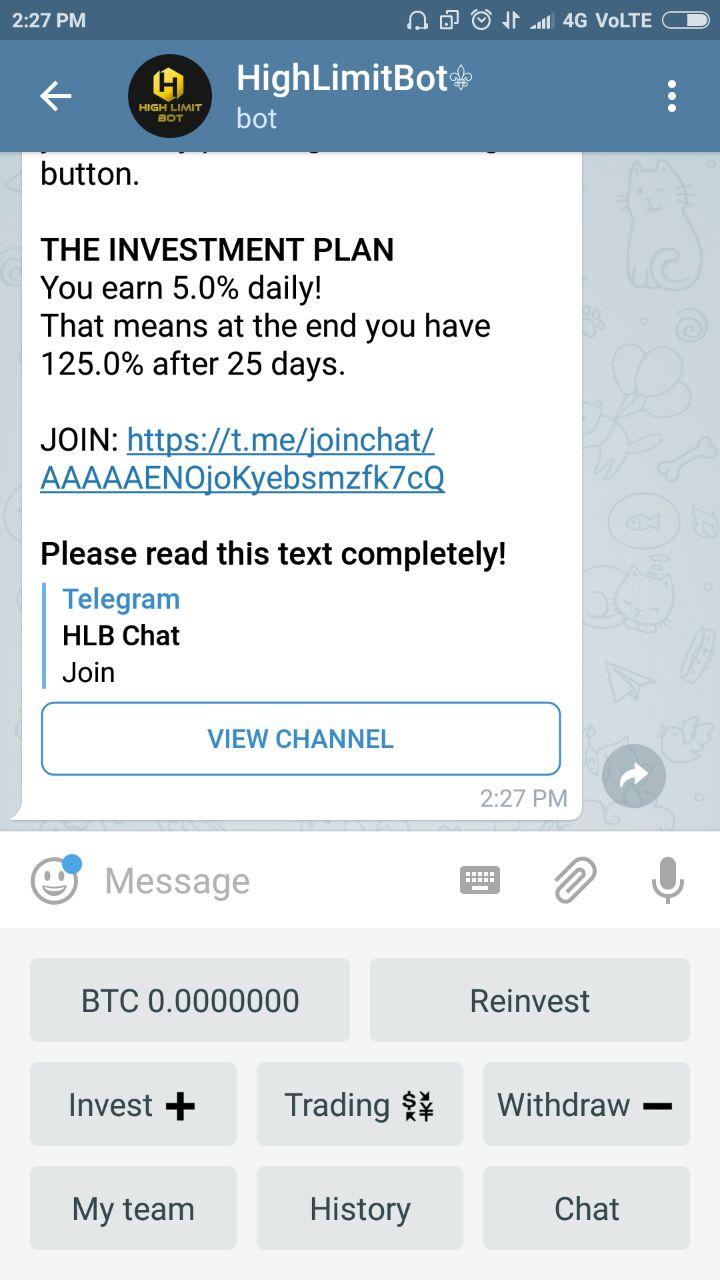 Telegram bitcoin mining bot review