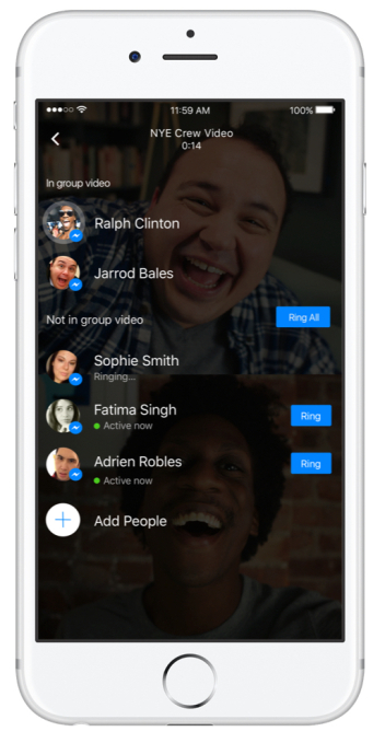 Facebook Messenger Launches Group Video Chat With Selfie Masks Feature In The New Upgrade!