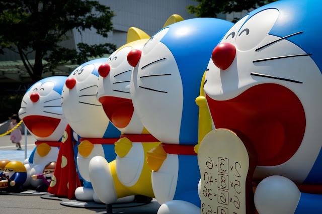 doraemon,chat,japon,tokyo,blog,carnet-de-voyage, blogue,anthracite-aime