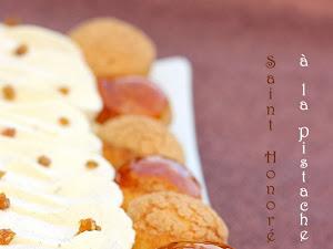 Saint-Honoré à la pistache : un dessert pour le nouvel an !