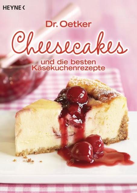 Dr. Oetker Cheesecakes und die besten Käsekuchenrezepte | Buchvorstellung | Backbuch | Buchrezension - Foodblog Topfgartenwelt