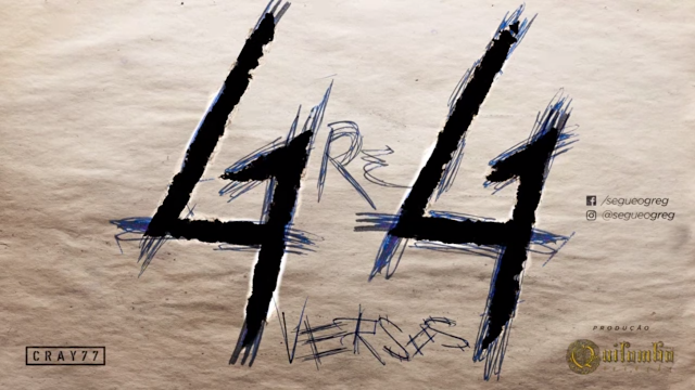 """GREG lança o som """"44 VERSOS"""""""