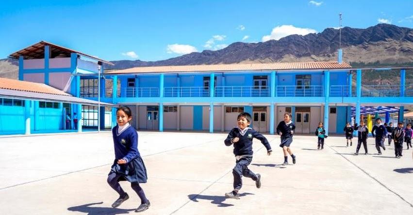 MINEDU transferirá cerca de 160 millones de soles para ejecución de obras de infraestructura educativa - www.minedu.gob.pe