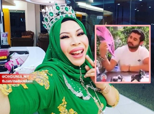 Reaksi Dato' Seri Vida Apabila TMJ Belikan Cenderamata Kipas Pink