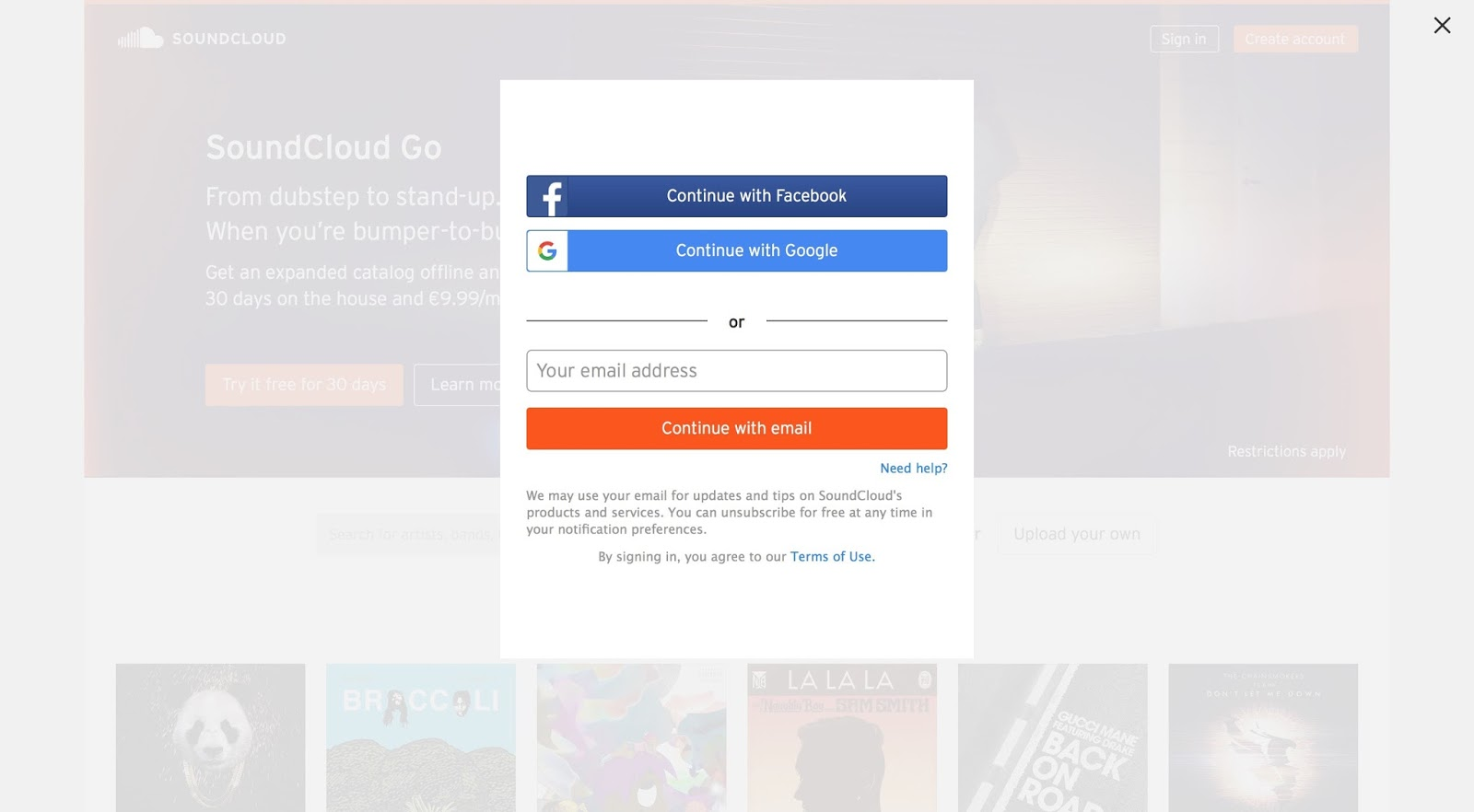 Forum on this topic: How to Create an Account on Soundcloud, how-to-create-an-account-on-soundcloud/