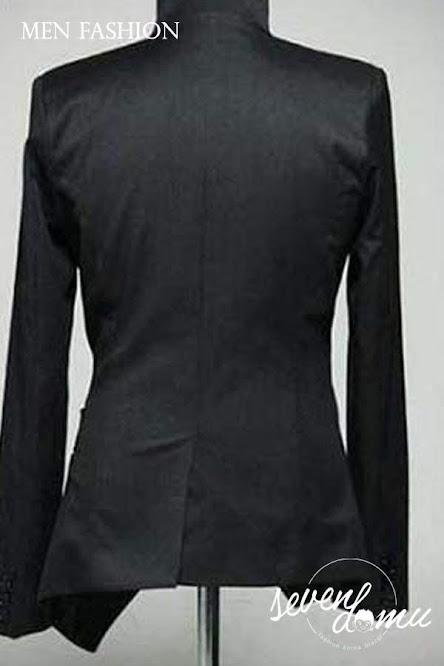 seven domu sk11 blazer hitam