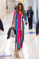 Priyanka Chopra in Colorful Jumpsuit arriving at JFK Airport New York 18 June 2017 ~  Exclusive 018.jpg