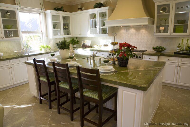 Rainforest Granite Kitchen Countertop Ideas