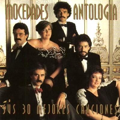 Foto de Mocedades en portada de disco