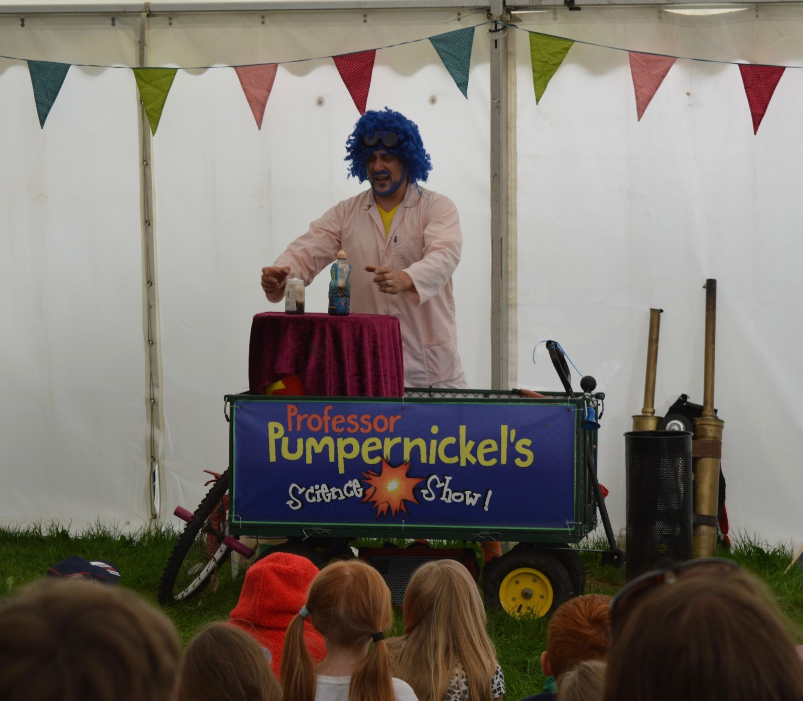 Corbridge Festival 2016 - A Review - Professor Pumpernickel