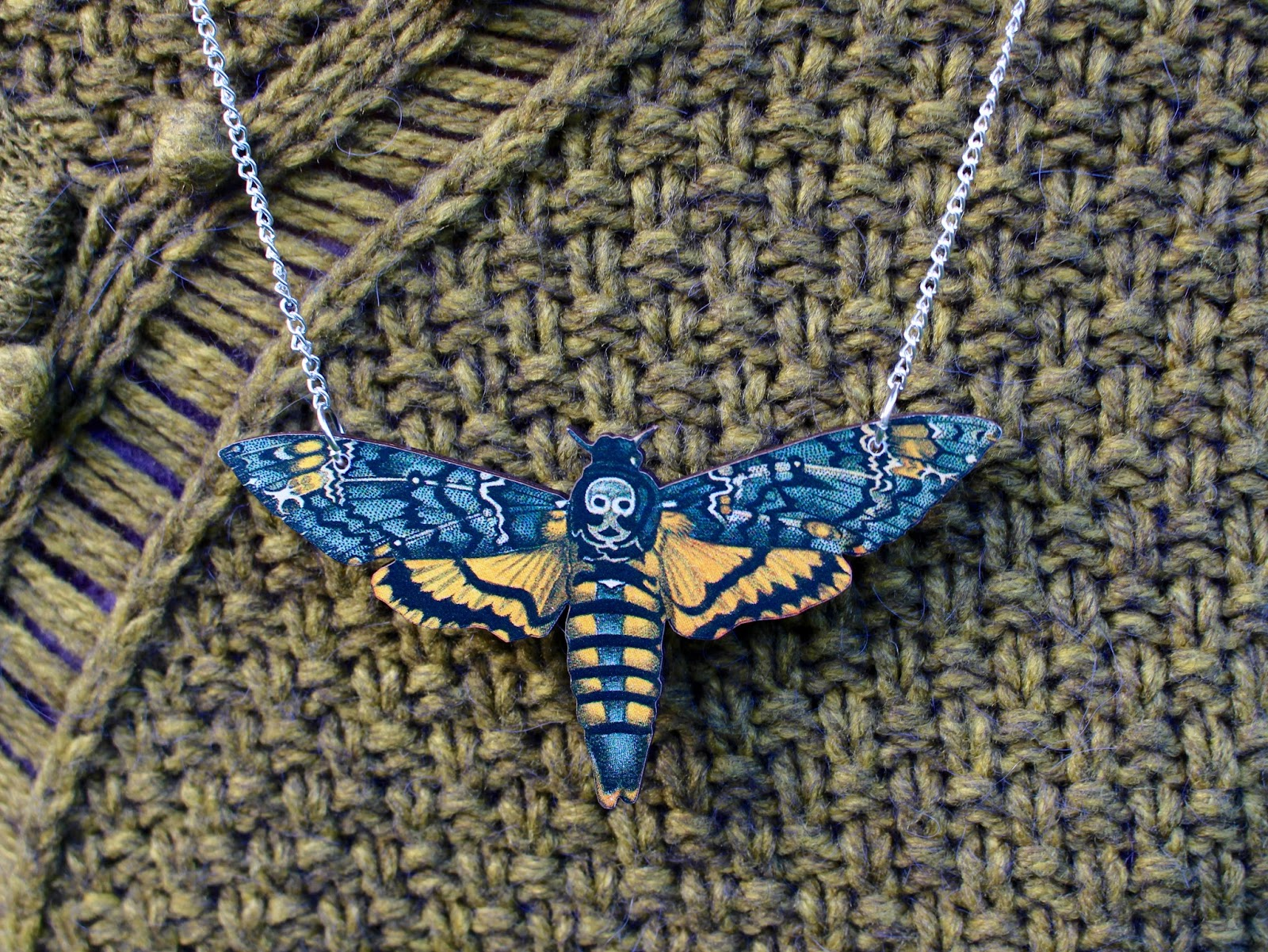 Moth Necklace | Fake Fabulous