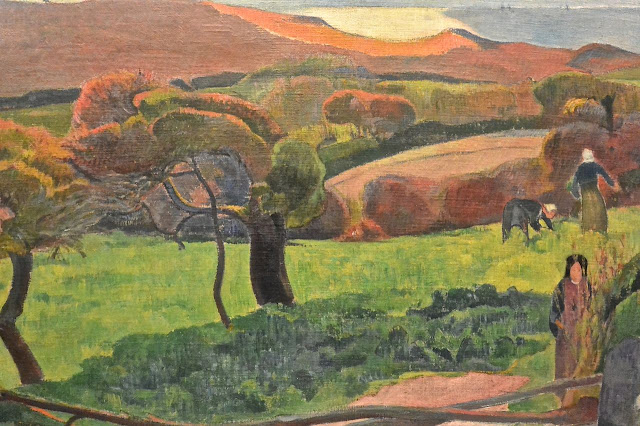 nationalmuseum de Stochkholm Paul Gauguin : Paysage de Bretagne (1889)