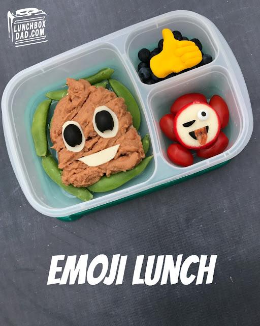 poop emoji winking emoji thumbs up