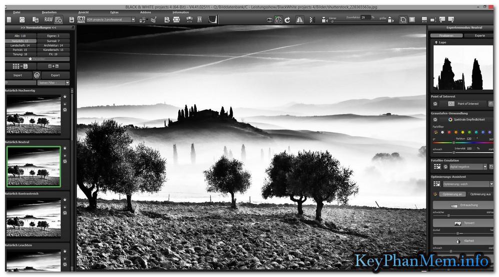 BLACK & WHITE Projects 5.52.02653 Full Key, Chỉnh sửa và làm ảnh đen trắng bá đạo