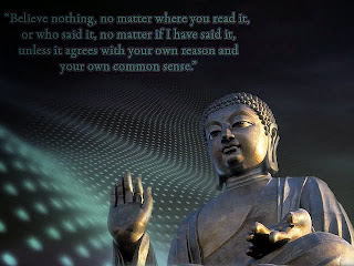 Image of Buddha quotes on reason and common sense
