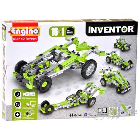 Engino Inventor - ÔTô M4 043