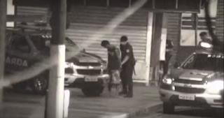 Guarda Civil Municipal de Santos com ajuda do monitoramento detêm infratores