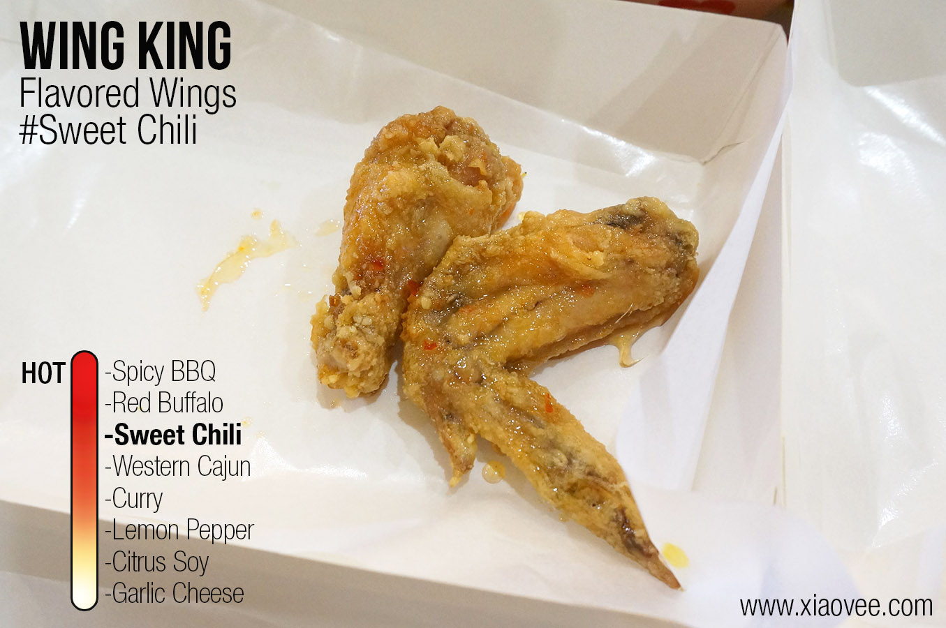 Wing King Surabaya, flavored wing king sweet chili