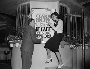 "Clara Bow_The ""It"" Cafe_CoffeeCow"