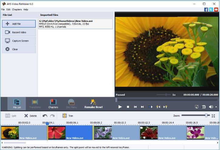 البرنامج, الافضل, لتحرير, وقص, وتقطيع, الفيديوهات, - AVS ,Video ,ReMaker