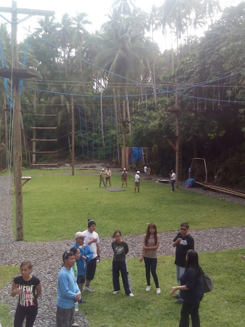 Project Lifelines ropes course facility in Valencia Negros Oriental