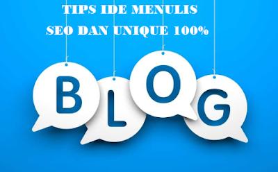 dapatkan ide menulis blog