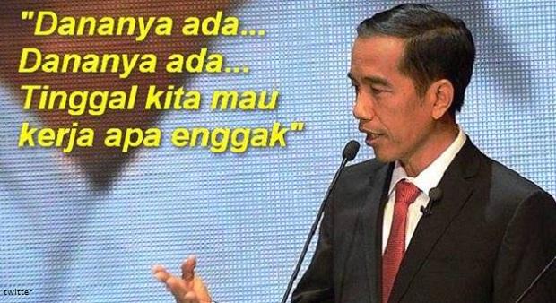 Slogan Pemerintah Itu Kerja, Kerja, Kerja Bukan Impor, Impor, Impor !