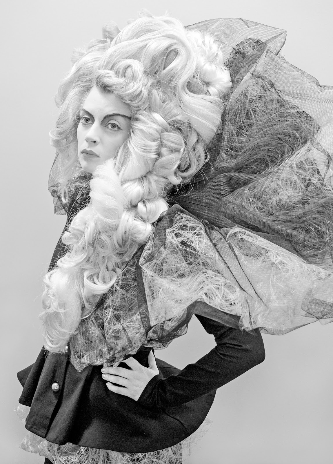 Avantgarde Frisuren Fotoshooting Niels Menke Design