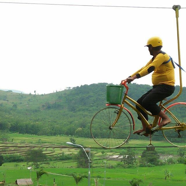 Sepeda Cinta Desa Wisata Lembah Mbencirang Mojokerto