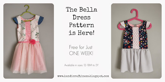 The Bella is Back~ More Sizes and It's FREE for just ONE WEEK!