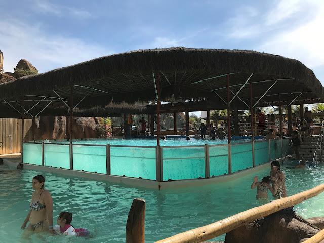 piscina que não afunda