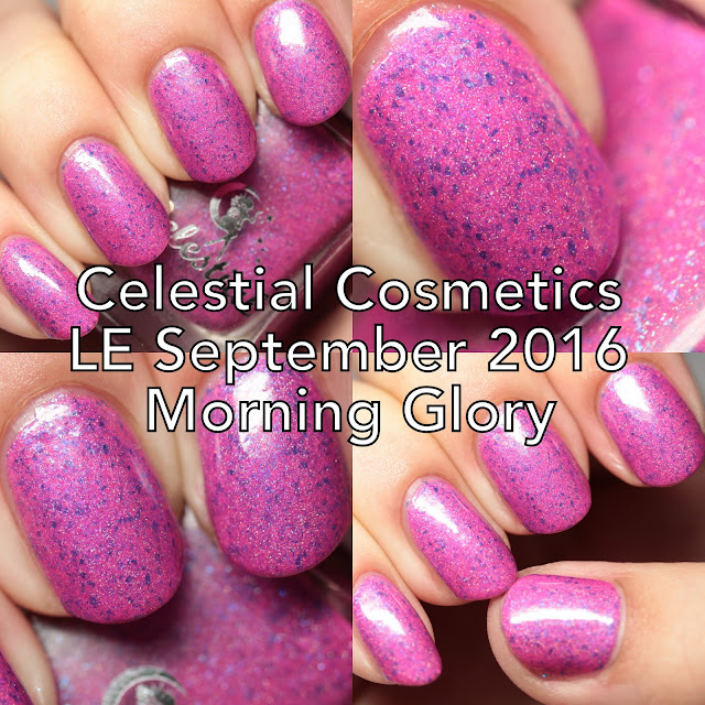 Celestial Cosmetics LE September 2016 (Morning Glory)