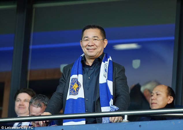 Vichai Srivaddhanaprabha will reward Leicester players with a luxury holiday if they can win the league title