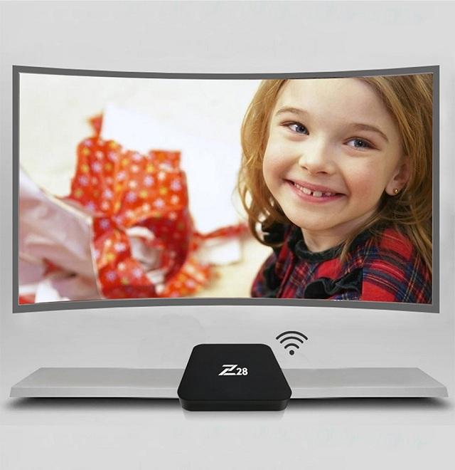 تعال واكتشف بسرعه Z28 TV Box الجديده